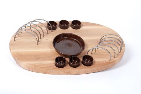 Obrázek pro kategorii Dřevěná servírovací prkénka