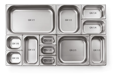 Picture for category GN stainless steel